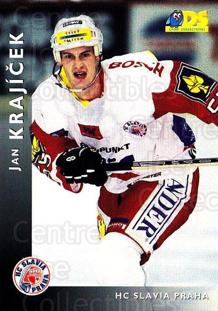 1999-00 Czech DS #116 Jan Krajicek<br/>3 In Stock - $2.00 each - <a href=https://centericecollectibles.foxycart.com/cart?name=1999-00%20Czech%20DS%20%23116%20Jan%20Krajicek...&price=$2.00&code=270507 class=foxycart> Buy it now! </a>