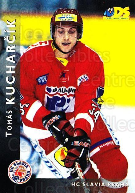 1999-00 Czech DS #120 Tomas Kucharcik<br/>3 In Stock - $2.00 each - <a href=https://centericecollectibles.foxycart.com/cart?name=1999-00%20Czech%20DS%20%23120%20Tomas%20Kucharcik...&price=$2.00&code=270508 class=foxycart> Buy it now! </a>