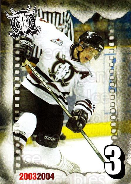 2003-04 Red Deer Rebels #14 Dion Phaneuf<br/>1 In Stock - $5.00 each - <a href=https://centericecollectibles.foxycart.com/cart?name=2003-04%20Red%20Deer%20Rebels%20%2314%20Dion%20Phaneuf...&quantity_max=1&price=$5.00&code=270624 class=foxycart> Buy it now! </a>