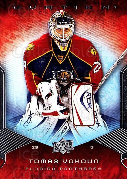 2008-09 UD Ovation #23 Tomas Vokoun<br/>2 In Stock - $1.00 each - <a href=https://centericecollectibles.foxycart.com/cart?name=2008-09%20UD%20Ovation%20%2323%20Tomas%20Vokoun...&quantity_max=2&price=$1.00&code=270696 class=foxycart> Buy it now! </a>