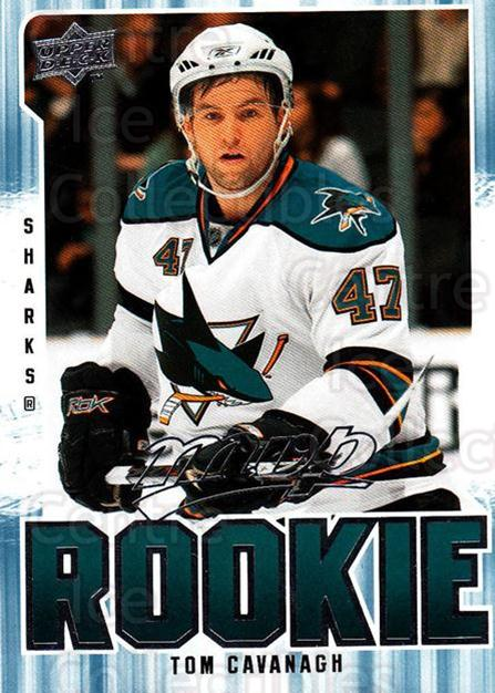 2008-09 Upper Deck MVP #303 Tom Cavanagh<br/>5 In Stock - $2.00 each - <a href=https://centericecollectibles.foxycart.com/cart?name=2008-09%20Upper%20Deck%20MVP%20%23303%20Tom%20Cavanagh...&quantity_max=5&price=$2.00&code=270726 class=foxycart> Buy it now! </a>