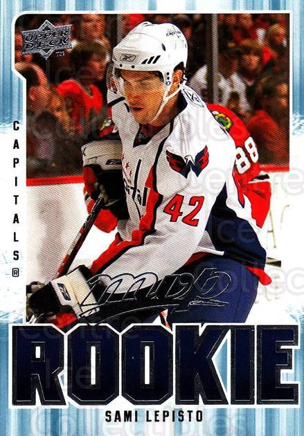 2008-09 Upper Deck MVP #310 Sami Lepisto<br/>1 In Stock - $2.00 each - <a href=https://centericecollectibles.foxycart.com/cart?name=2008-09%20Upper%20Deck%20MVP%20%23310%20Sami%20Lepisto...&quantity_max=1&price=$2.00&code=270733 class=foxycart> Buy it now! </a>