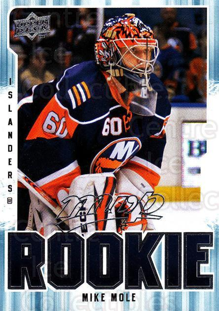 2008-09 Upper Deck MVP #316 Mike Mole<br/>6 In Stock - $2.00 each - <a href=https://centericecollectibles.foxycart.com/cart?name=2008-09%20Upper%20Deck%20MVP%20%23316%20Mike%20Mole...&quantity_max=6&price=$2.00&code=270739 class=foxycart> Buy it now! </a>