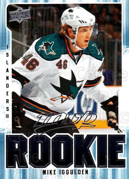 2008-09 Upper Deck MVP #317 Mike Iggulden<br/>2 In Stock - $2.00 each - <a href=https://centericecollectibles.foxycart.com/cart?name=2008-09%20Upper%20Deck%20MVP%20%23317%20Mike%20Iggulden...&quantity_max=2&price=$2.00&code=270740 class=foxycart> Buy it now! </a>