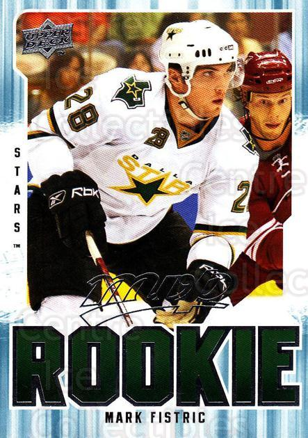 2008-09 Upper Deck MVP #321 Mark Fistric<br/>3 In Stock - $2.00 each - <a href=https://centericecollectibles.foxycart.com/cart?name=2008-09%20Upper%20Deck%20MVP%20%23321%20Mark%20Fistric...&quantity_max=3&price=$2.00&code=270744 class=foxycart> Buy it now! </a>