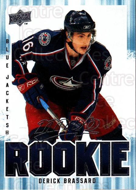 2008-09 Upper Deck MVP #340 Derick Brassard<br/>2 In Stock - $2.00 each - <a href=https://centericecollectibles.foxycart.com/cart?name=2008-09%20Upper%20Deck%20MVP%20%23340%20Derick%20Brassard...&quantity_max=2&price=$2.00&code=270763 class=foxycart> Buy it now! </a>