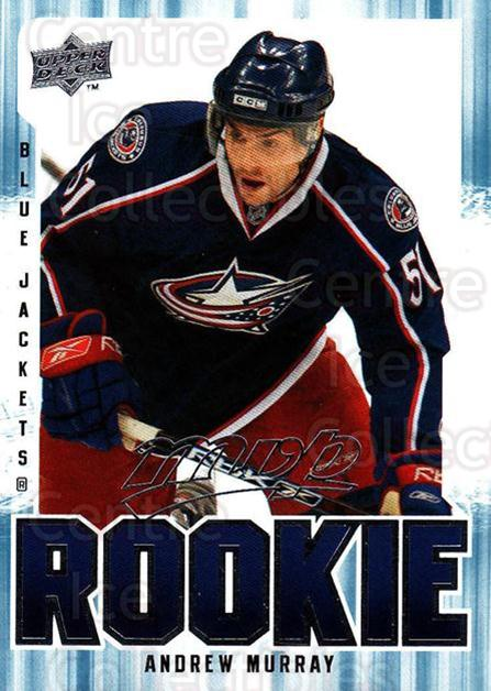 2008-09 Upper Deck MVP #357 Andrew Murray<br/>2 In Stock - $2.00 each - <a href=https://centericecollectibles.foxycart.com/cart?name=2008-09%20Upper%20Deck%20MVP%20%23357%20Andrew%20Murray...&quantity_max=2&price=$2.00&code=270780 class=foxycart> Buy it now! </a>