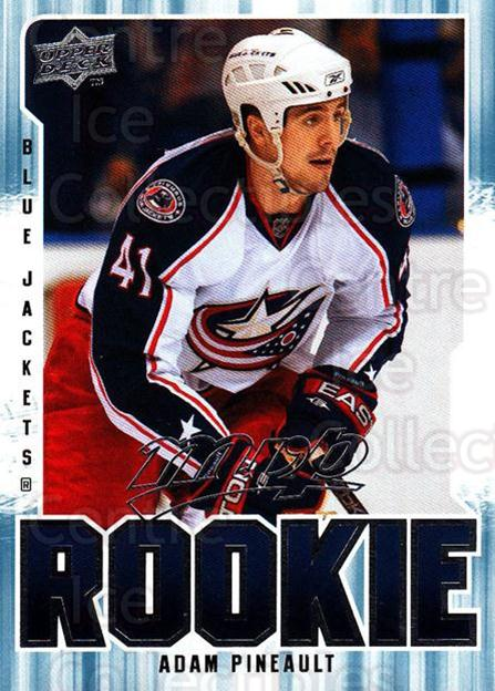 2008-09 Upper Deck MVP #361 Adam Pineault<br/>3 In Stock - $2.00 each - <a href=https://centericecollectibles.foxycart.com/cart?name=2008-09%20Upper%20Deck%20MVP%20%23361%20Adam%20Pineault...&quantity_max=3&price=$2.00&code=270784 class=foxycart> Buy it now! </a>