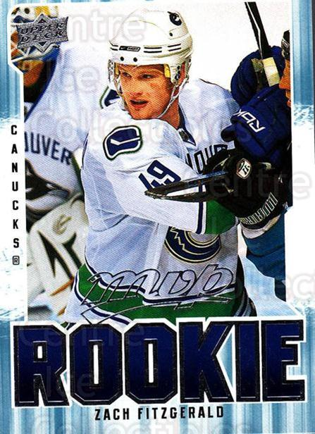 2008-09 Upper Deck MVP #392 Zach Fitzgerald<br/>1 In Stock - $2.00 each - <a href=https://centericecollectibles.foxycart.com/cart?name=2008-09%20Upper%20Deck%20MVP%20%23392%20Zach%20Fitzgerald...&quantity_max=1&price=$2.00&code=270815 class=foxycart> Buy it now! </a>