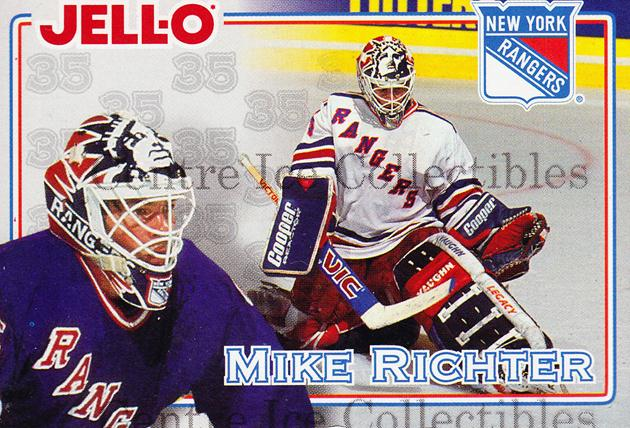 1995-96 Kraft Jell-O #22 Mike Richter<br/>1 In Stock - $2.00 each - <a href=https://centericecollectibles.foxycart.com/cart?name=1995-96%20Kraft%20Jell-O%20%2322%20Mike%20Richter...&quantity_max=1&price=$2.00&code=271352 class=foxycart> Buy it now! </a>