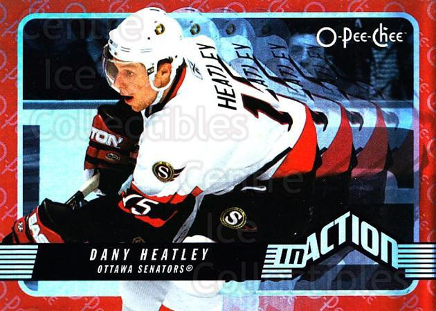 2007-08 O-Pee-Chee In Action #4 Dany Heatley<br/>3 In Stock - $2.00 each - <a href=https://centericecollectibles.foxycart.com/cart?name=2007-08%20O-Pee-Chee%20In%20Action%20%234%20Dany%20Heatley...&quantity_max=3&price=$2.00&code=271374 class=foxycart> Buy it now! </a>