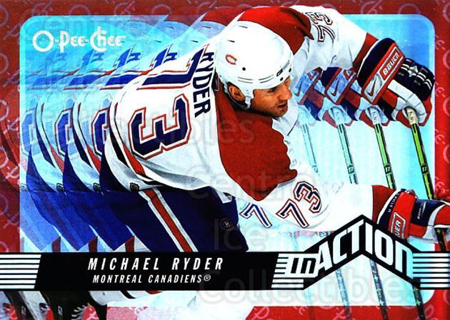 2007-08 O-Pee-Chee In Action #12 Michael Ryder<br/>1 In Stock - $2.00 each - <a href=https://centericecollectibles.foxycart.com/cart?name=2007-08%20O-Pee-Chee%20In%20Action%20%2312%20Michael%20Ryder...&quantity_max=1&price=$2.00&code=271382 class=foxycart> Buy it now! </a>