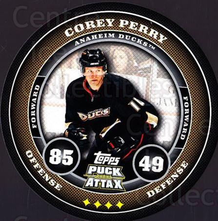 2009-10 Topps Puck Attax #2 Corey Perry<br/>2 In Stock - $2.00 each - <a href=https://centericecollectibles.foxycart.com/cart?name=2009-10%20Topps%20Puck%20Attax%20%232%20Corey%20Perry...&quantity_max=2&price=$2.00&code=271660 class=foxycart> Buy it now! </a>