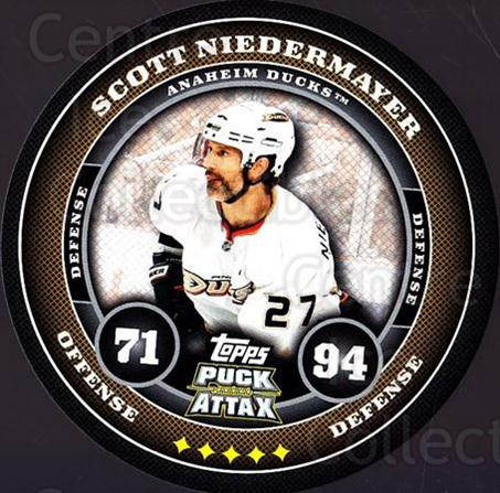 2009-10 Topps Puck Attax #4 Scott Niedermayer<br/>4 In Stock - $2.00 each - <a href=https://centericecollectibles.foxycart.com/cart?name=2009-10%20Topps%20Puck%20Attax%20%234%20Scott%20Niedermay...&quantity_max=4&price=$2.00&code=271662 class=foxycart> Buy it now! </a>