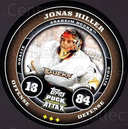 2009-10 Topps Puck Attax #6 Jonas Hiller<br/>4 In Stock - $2.00 each - <a href=https://centericecollectibles.foxycart.com/cart?name=2009-10%20Topps%20Puck%20Attax%20%236%20Jonas%20Hiller...&quantity_max=4&price=$2.00&code=271664 class=foxycart> Buy it now! </a>
