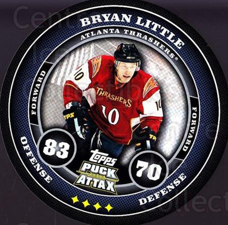 2009-10 Topps Puck Attax #7 Bryan Little<br/>7 In Stock - $2.00 each - <a href=https://centericecollectibles.foxycart.com/cart?name=2009-10%20Topps%20Puck%20Attax%20%237%20Bryan%20Little...&quantity_max=7&price=$2.00&code=271665 class=foxycart> Buy it now! </a>