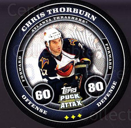2009-10 Topps Puck Attax #9 Chris Thorburn<br/>7 In Stock - $2.00 each - <a href=https://centericecollectibles.foxycart.com/cart?name=2009-10%20Topps%20Puck%20Attax%20%239%20Chris%20Thorburn...&quantity_max=7&price=$2.00&code=271667 class=foxycart> Buy it now! </a>