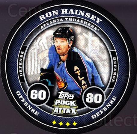 2009-10 Topps Puck Attax #11 Ron Hainsey<br/>2 In Stock - $2.00 each - <a href=https://centericecollectibles.foxycart.com/cart?name=2009-10%20Topps%20Puck%20Attax%20%2311%20Ron%20Hainsey...&quantity_max=2&price=$2.00&code=271669 class=foxycart> Buy it now! </a>