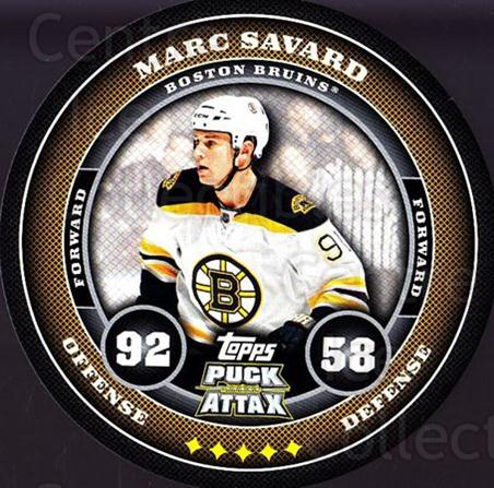 2009-10 Topps Puck Attax #13 Marc Savard<br/>2 In Stock - $2.00 each - <a href=https://centericecollectibles.foxycart.com/cart?name=2009-10%20Topps%20Puck%20Attax%20%2313%20Marc%20Savard...&quantity_max=2&price=$2.00&code=271671 class=foxycart> Buy it now! </a>