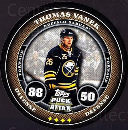 2009-10 Topps Puck Attax #22 Thomas Vanek<br/>4 In Stock - $2.00 each - <a href=https://centericecollectibles.foxycart.com/cart?name=2009-10%20Topps%20Puck%20Attax%20%2322%20Thomas%20Vanek...&quantity_max=4&price=$2.00&code=271680 class=foxycart> Buy it now! </a>