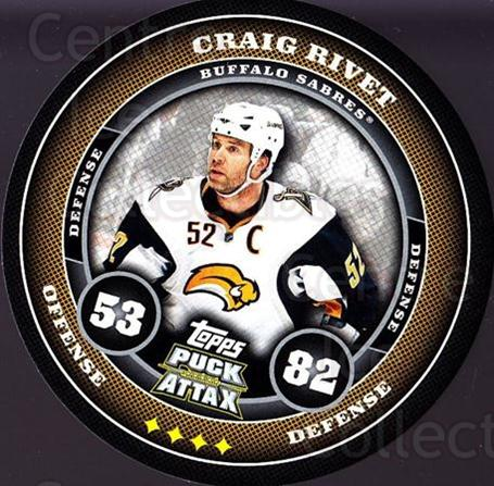 2009-10 Topps Puck Attax #23 Craig Rivet<br/>6 In Stock - $2.00 each - <a href=https://centericecollectibles.foxycart.com/cart?name=2009-10%20Topps%20Puck%20Attax%20%2323%20Craig%20Rivet...&quantity_max=6&price=$2.00&code=271681 class=foxycart> Buy it now! </a>