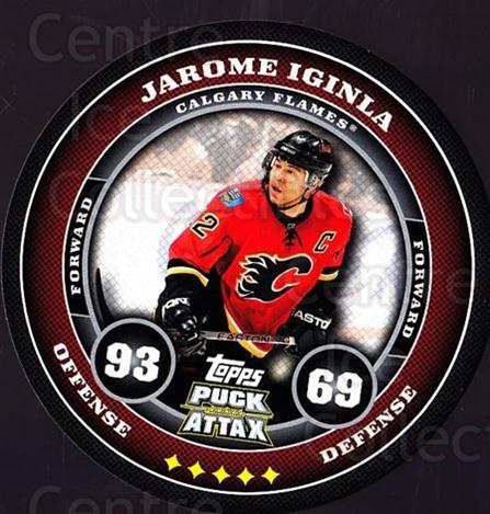2009-10 Topps Puck Attax #27 Jarome Iginla<br/>3 In Stock - $2.00 each - <a href=https://centericecollectibles.foxycart.com/cart?name=2009-10%20Topps%20Puck%20Attax%20%2327%20Jarome%20Iginla...&quantity_max=3&price=$2.00&code=271685 class=foxycart> Buy it now! </a>