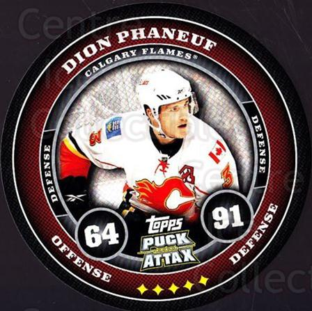 2009-10 Topps Puck Attax #29 Dion Phaneuf<br/>3 In Stock - $2.00 each - <a href=https://centericecollectibles.foxycart.com/cart?name=2009-10%20Topps%20Puck%20Attax%20%2329%20Dion%20Phaneuf...&price=$2.00&code=271687 class=foxycart> Buy it now! </a>