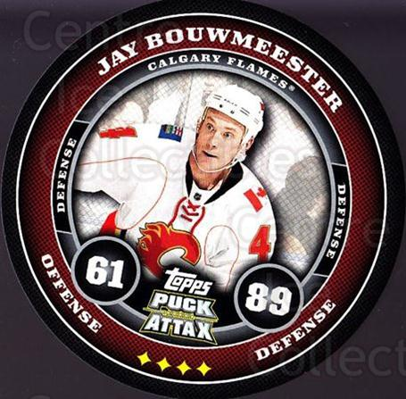 2009-10 Topps Puck Attax #30 Jay Bouwmeester<br/>5 In Stock - $2.00 each - <a href=https://centericecollectibles.foxycart.com/cart?name=2009-10%20Topps%20Puck%20Attax%20%2330%20Jay%20Bouwmeester...&quantity_max=5&price=$2.00&code=271688 class=foxycart> Buy it now! </a>