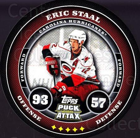 2009-10 Topps Puck Attax #32 Eric Staal<br/>5 In Stock - $2.00 each - <a href=https://centericecollectibles.foxycart.com/cart?name=2009-10%20Topps%20Puck%20Attax%20%2332%20Eric%20Staal...&quantity_max=5&price=$2.00&code=271690 class=foxycart> Buy it now! </a>