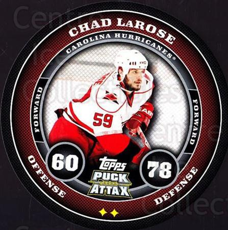 2009-10 Topps Puck Attax #33 Chad LaRose<br/>4 In Stock - $2.00 each - <a href=https://centericecollectibles.foxycart.com/cart?name=2009-10%20Topps%20Puck%20Attax%20%2333%20Chad%20LaRose...&quantity_max=4&price=$2.00&code=271691 class=foxycart> Buy it now! </a>