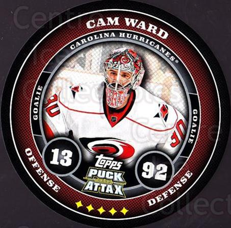 2009-10 Topps Puck Attax #37 Cam Ward<br/>1 In Stock - $2.00 each - <a href=https://centericecollectibles.foxycart.com/cart?name=2009-10%20Topps%20Puck%20Attax%20%2337%20Cam%20Ward...&price=$2.00&code=271695 class=foxycart> Buy it now! </a>