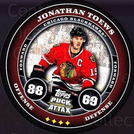 2009-10 Topps Puck Attax #38 Jonathan Toews<br/>4 In Stock - $2.00 each - <a href=https://centericecollectibles.foxycart.com/cart?name=2009-10%20Topps%20Puck%20Attax%20%2338%20Jonathan%20Toews...&quantity_max=4&price=$2.00&code=271696 class=foxycart> Buy it now! </a>