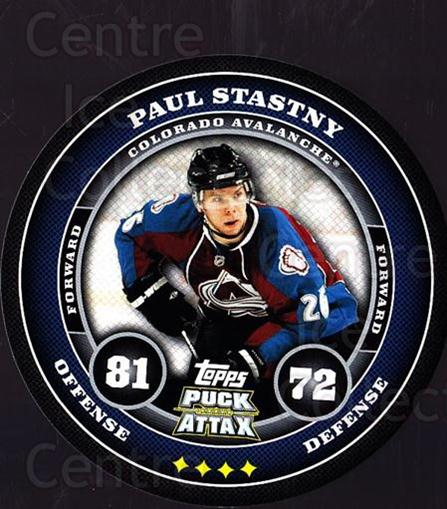 2009-10 Topps Puck Attax #45 Paul Stastny<br/>3 In Stock - $2.00 each - <a href=https://centericecollectibles.foxycart.com/cart?name=2009-10%20Topps%20Puck%20Attax%20%2345%20Paul%20Stastny...&quantity_max=3&price=$2.00&code=271703 class=foxycart> Buy it now! </a>