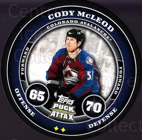 2009-10 Topps Puck Attax #46 Cody McLeod<br/>3 In Stock - $2.00 each - <a href=https://centericecollectibles.foxycart.com/cart?name=2009-10%20Topps%20Puck%20Attax%20%2346%20Cody%20McLeod...&quantity_max=3&price=$2.00&code=271704 class=foxycart> Buy it now! </a>