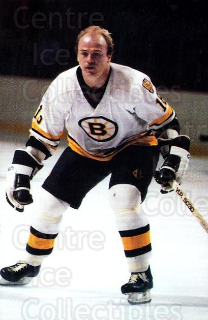 1984-85 Boston Bruins Postcards #16 Rick Middleton<br/>3 In Stock - $3.00 each - <a href=https://centericecollectibles.foxycart.com/cart?name=1984-85%20Boston%20Bruins%20Postcards%20%2316%20Rick%20Middleton...&quantity_max=3&price=$3.00&code=27170 class=foxycart> Buy it now! </a>