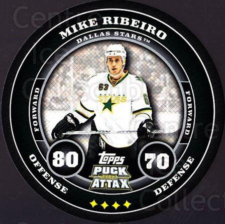2009-10 Topps Puck Attax #56 Mike Ribeiro<br/>4 In Stock - $2.00 each - <a href=https://centericecollectibles.foxycart.com/cart?name=2009-10%20Topps%20Puck%20Attax%20%2356%20Mike%20Ribeiro...&quantity_max=4&price=$2.00&code=271714 class=foxycart> Buy it now! </a>