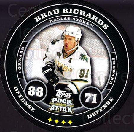 2009-10 Topps Puck Attax #57 Brad Richards<br/>6 In Stock - $2.00 each - <a href=https://centericecollectibles.foxycart.com/cart?name=2009-10%20Topps%20Puck%20Attax%20%2357%20Brad%20Richards...&quantity_max=6&price=$2.00&code=271715 class=foxycart> Buy it now! </a>
