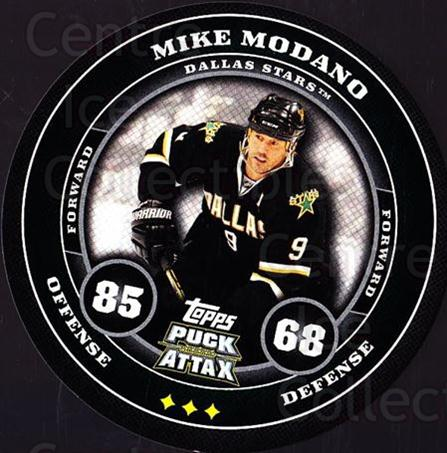 2009-10 Topps Puck Attax #58 Mike Modano<br/>5 In Stock - $2.00 each - <a href=https://centericecollectibles.foxycart.com/cart?name=2009-10%20Topps%20Puck%20Attax%20%2358%20Mike%20Modano...&quantity_max=5&price=$2.00&code=271716 class=foxycart> Buy it now! </a>