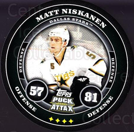 2009-10 Topps Puck Attax #59 Matt Niskanen<br/>1 In Stock - $2.00 each - <a href=https://centericecollectibles.foxycart.com/cart?name=2009-10%20Topps%20Puck%20Attax%20%2359%20Matt%20Niskanen...&quantity_max=1&price=$2.00&code=271717 class=foxycart> Buy it now! </a>