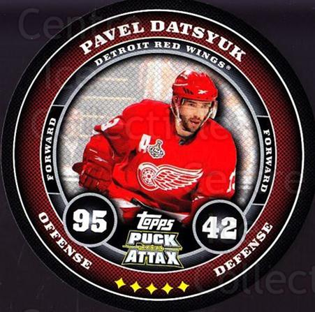 2009-10 Topps Puck Attax #64 Pavel Datsyuk<br/>2 In Stock - $2.00 each - <a href=https://centericecollectibles.foxycart.com/cart?name=2009-10%20Topps%20Puck%20Attax%20%2364%20Pavel%20Datsyuk...&quantity_max=2&price=$2.00&code=271722 class=foxycart> Buy it now! </a>