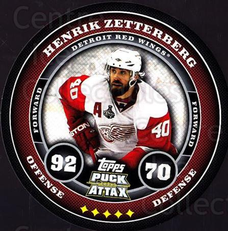 2009-10 Topps Puck Attax #65 Henrik Zetterberg<br/>4 In Stock - $2.00 each - <a href=https://centericecollectibles.foxycart.com/cart?name=2009-10%20Topps%20Puck%20Attax%20%2365%20Henrik%20Zetterbe...&quantity_max=4&price=$2.00&code=271723 class=foxycart> Buy it now! </a>