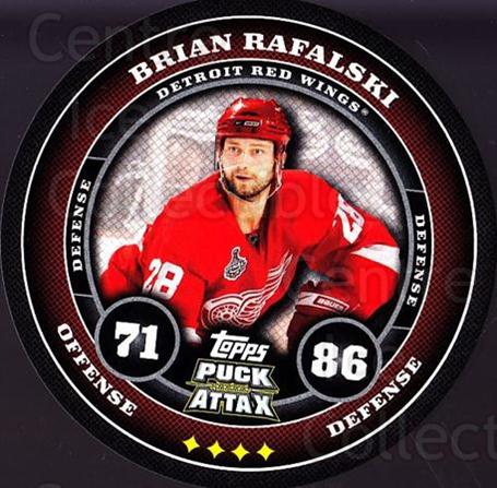2009-10 Topps Puck Attax #66 Brian Rafalski<br/>5 In Stock - $2.00 each - <a href=https://centericecollectibles.foxycart.com/cart?name=2009-10%20Topps%20Puck%20Attax%20%2366%20Brian%20Rafalski...&quantity_max=5&price=$2.00&code=271724 class=foxycart> Buy it now! </a>