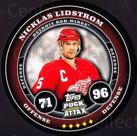 2009-10 Topps Puck Attax #67 Nicklas Lidstrom<br/>3 In Stock - $2.00 each - <a href=https://centericecollectibles.foxycart.com/cart?name=2009-10%20Topps%20Puck%20Attax%20%2367%20Nicklas%20Lidstro...&quantity_max=3&price=$2.00&code=271725 class=foxycart> Buy it now! </a>