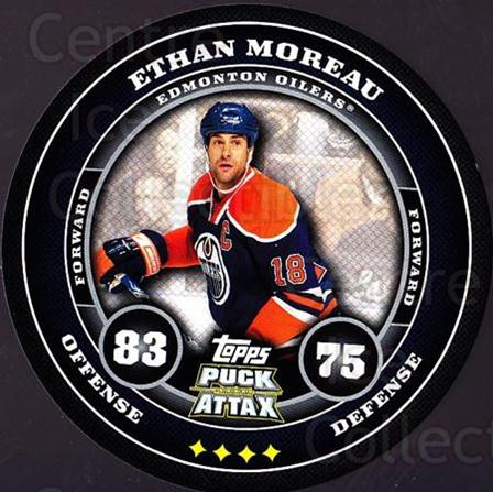 2009-10 Topps Puck Attax #71 Ethan Moreau<br/>5 In Stock - $2.00 each - <a href=https://centericecollectibles.foxycart.com/cart?name=2009-10%20Topps%20Puck%20Attax%20%2371%20Ethan%20Moreau...&quantity_max=5&price=$2.00&code=271729 class=foxycart> Buy it now! </a>