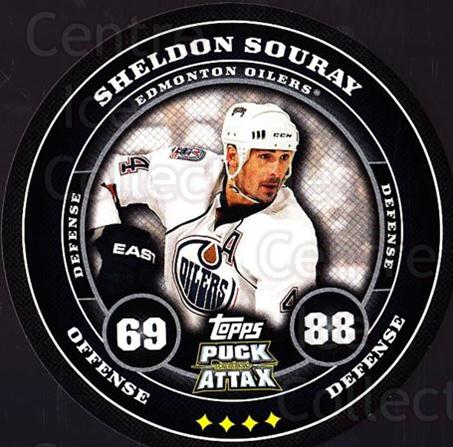 2009-10 Topps Puck Attax #73 Sheldon Souray<br/>3 In Stock - $2.00 each - <a href=https://centericecollectibles.foxycart.com/cart?name=2009-10%20Topps%20Puck%20Attax%20%2373%20Sheldon%20Souray...&quantity_max=3&price=$2.00&code=271731 class=foxycart> Buy it now! </a>