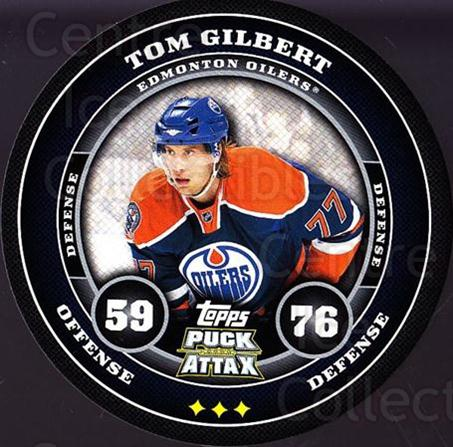 2009-10 Topps Puck Attax #74 Tom Gilbert<br/>4 In Stock - $2.00 each - <a href=https://centericecollectibles.foxycart.com/cart?name=2009-10%20Topps%20Puck%20Attax%20%2374%20Tom%20Gilbert...&quantity_max=4&price=$2.00&code=271732 class=foxycart> Buy it now! </a>