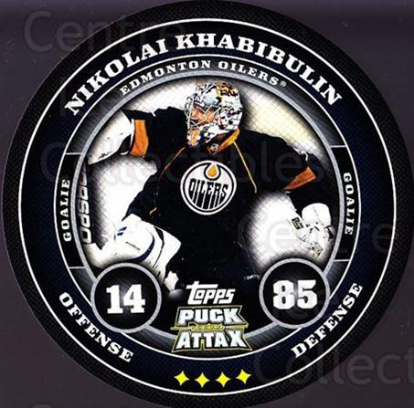 2009-10 Topps Puck Attax #76 Nikolai Khabibulin<br/>1 In Stock - $2.00 each - <a href=https://centericecollectibles.foxycart.com/cart?name=2009-10%20Topps%20Puck%20Attax%20%2376%20Nikolai%20Khabibu...&quantity_max=1&price=$2.00&code=271734 class=foxycart> Buy it now! </a>
