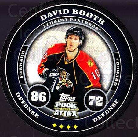 2009-10 Topps Puck Attax #78 David Booth<br/>5 In Stock - $2.00 each - <a href=https://centericecollectibles.foxycart.com/cart?name=2009-10%20Topps%20Puck%20Attax%20%2378%20David%20Booth...&quantity_max=5&price=$2.00&code=271736 class=foxycart> Buy it now! </a>