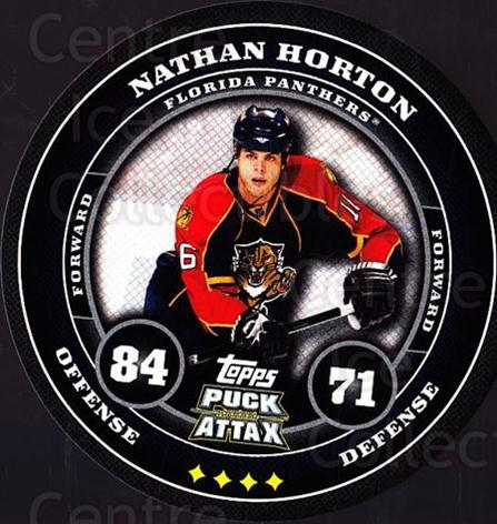 2009-10 Topps Puck Attax #79 Nathan Horton<br/>7 In Stock - $2.00 each - <a href=https://centericecollectibles.foxycart.com/cart?name=2009-10%20Topps%20Puck%20Attax%20%2379%20Nathan%20Horton...&quantity_max=7&price=$2.00&code=271737 class=foxycart> Buy it now! </a>