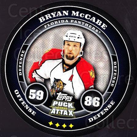 2009-10 Topps Puck Attax #81 Bryan McCabe<br/>3 In Stock - $2.00 each - <a href=https://centericecollectibles.foxycart.com/cart?name=2009-10%20Topps%20Puck%20Attax%20%2381%20Bryan%20McCabe...&quantity_max=3&price=$2.00&code=271739 class=foxycart> Buy it now! </a>